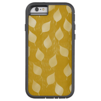 Glowing Gold Leaves Tough Xtreme iPhone 6 Case