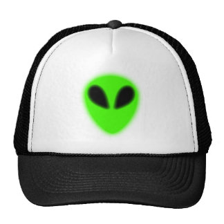 Glowing Green Alien Hat