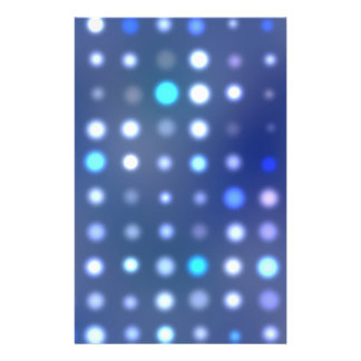 Glowing Halftone Dots Textured Flyers