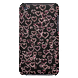 Glowing Hearts iPod Touch Case-Mate Case