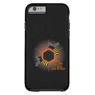 Glowing honeycomb iPhone 6 case