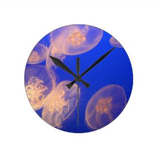 Glowing Jellyfish Clock