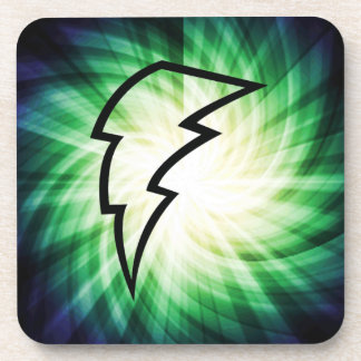 Glowing Lightning Bolt Coaster