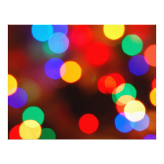 Glowing lights PARTY! 21.5 Cm X 28 Cm Flyer
