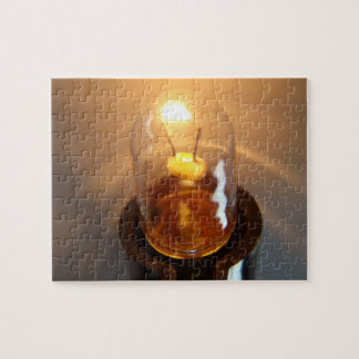 Glowing Low Voltage Light Bulb Jigsaw Puzzle