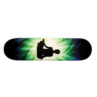 Glowing Meditation Ardha Skate Board
