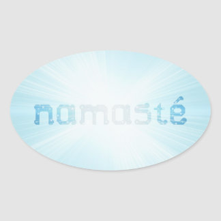 Glowing Namaste Sticker