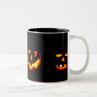 Glowing Pumpkin Coffee Mug Halloween