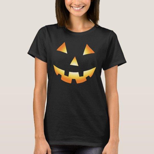 Glowing Pumpkin Cool Halloween Shirt