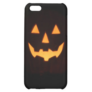 glowing pumpkin case for iPhone 5C