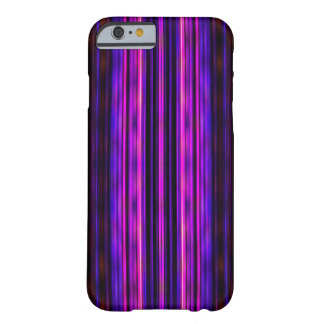 Glowing purple blurred stripes pattern barely there iPhone 6 case