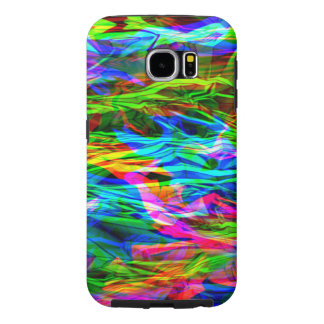 Glowing Rainbow Abstract Samsung Galaxy S6 Cases