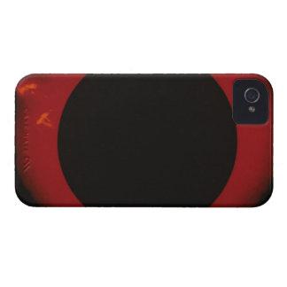 Glowing Red Corona iPhone 4 Case