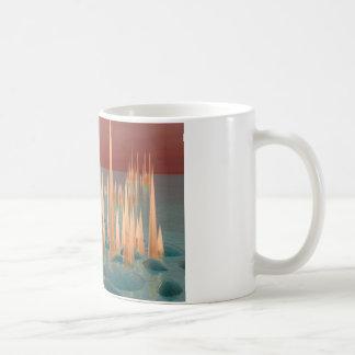 Glowing Spikes Coffee Mugs