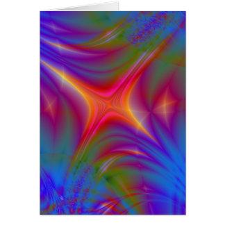 Glowing Star Card