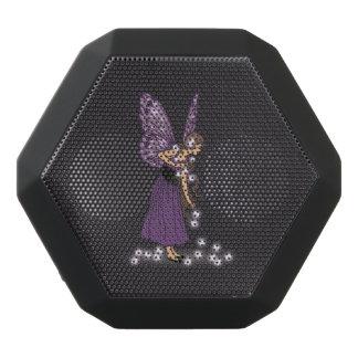Glowing Star Flowers Pretty Purple Fairy Girl
