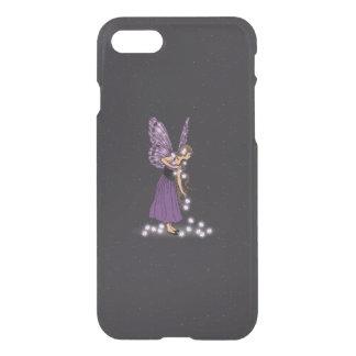 Glowing Star Flowers Pretty Purple Fairy Girl iPhone 7 Case