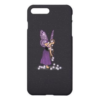 Glowing Star Flowers Pretty Purple Fairy Girl iPhone 7 Plus Case