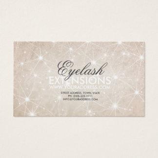 Glowing Star Snow Cream Eyelash Extensions Card