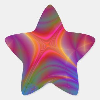 Glowing Star Star Sticker