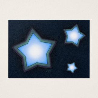 Glowing Stars Chubby Profile Card