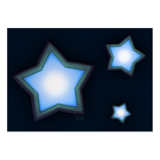 Glowing Stars Chubby Profile Card Pack Of Chubby Business Cards