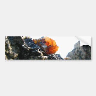 Glowing Stone Bumper Sticker