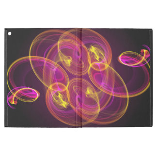 "Glowing Swirls Pattern iPad Pro 12.9"" Case"