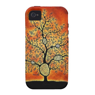 GLOWING TREE OF LIFE-VINTAGE iPhone 4 CASES