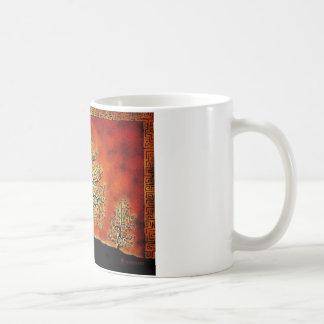 GLOWING TREE OF LIFE-VINTAGE CLASSIC WHITE COFFEE MUG