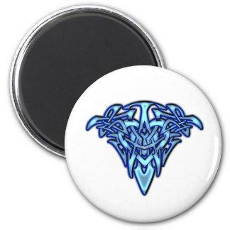 Glowing Tribal/Celtic Heart customizable design Fridge Magnets