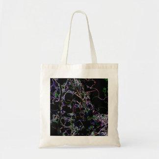 Glowing Vines Budget Tote Bag