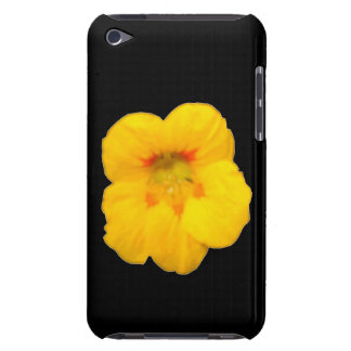 Glowing Yellow Nasturtium iPod Case