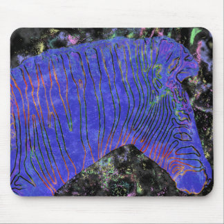 glowing zebras 06 mouse mats