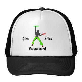 Glowstick Samurai Cap