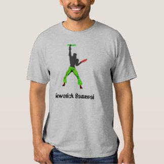 Glowstick Samurai T Shirt