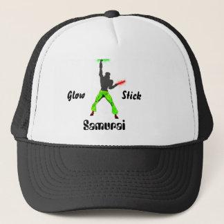 Glowstick Samurai Trucker Hat