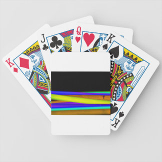 Glowsticks Bicycle Playing Cards