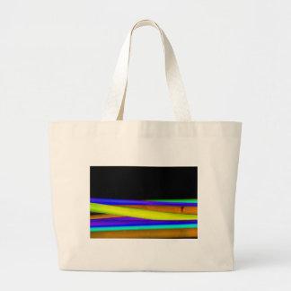 Glowsticks Large Tote Bag