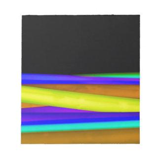 Glowsticks Notepad