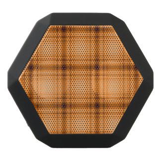 Glowy Look Copper Brown Plaid Print Black Boombot Rex Bluetooth Speaker