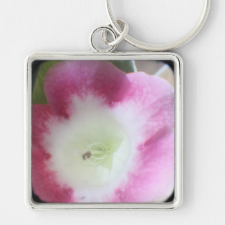 Gloxinia Blossom TTV Square Keychain