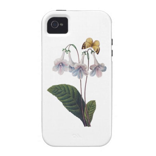 Gloxinia by Pierre Joseph Redoute iPhone 4/4S Case