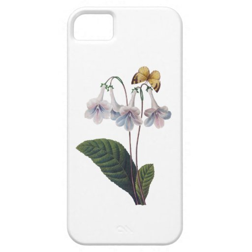 Gloxinia by Pierre Joseph Redoute iPhone 5 Cases