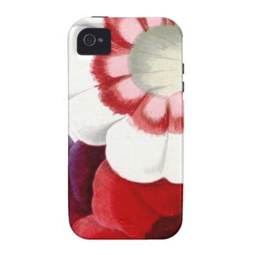 Gloxinias Vibe iPhone 4 Cases