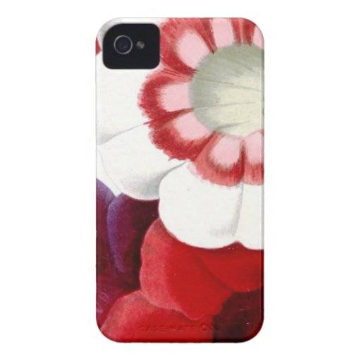 Gloxinias iPhone 4 Case-Mate Case