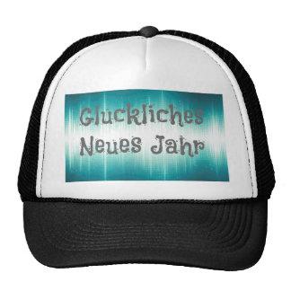 Gluckliches Neues Jahr Trucker Hats