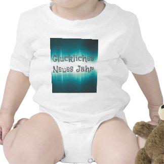 Gluckliches Neues Jahr Baby Bodysuit