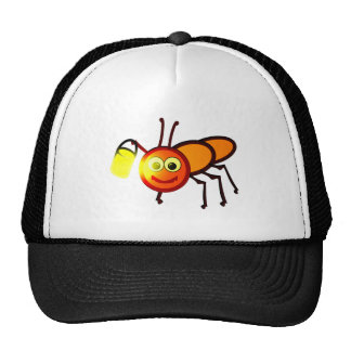 Glühwürmchen firefly firebug cap