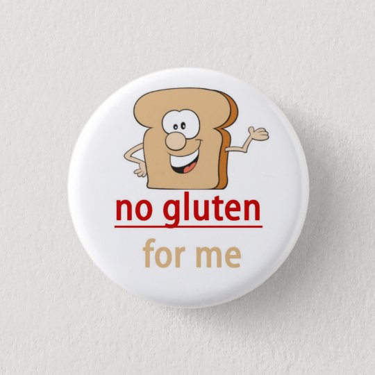 Gluten Allergy Alert 3 Cm Round Badge